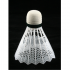 Волан пластм. белый (пеноголовка) арт.Т6765